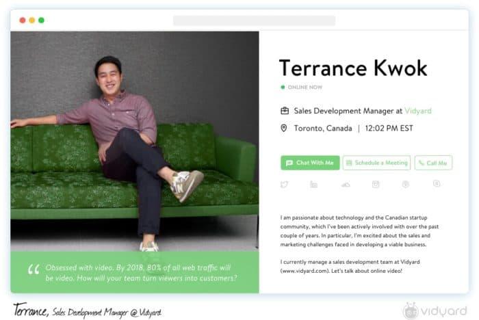 Drift profile for account-based marketing