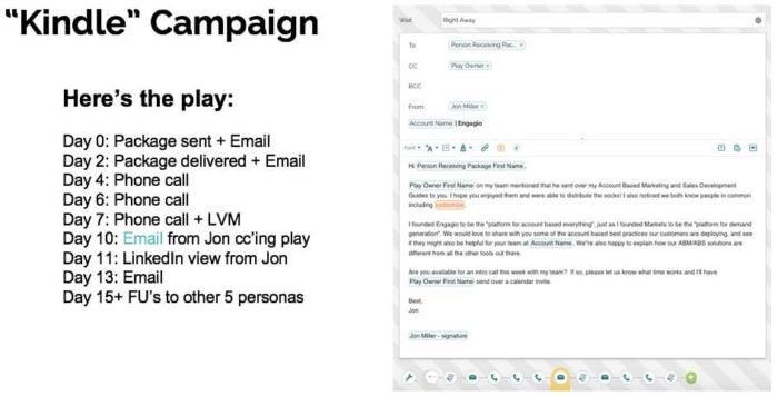 account-based marketing Engagio example