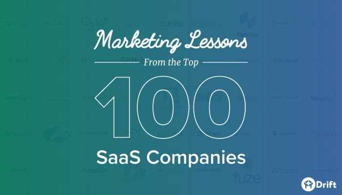 SaaS marketing lessons from the top 100 companies