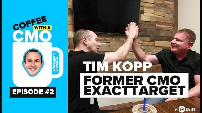 CMO Interview Tim Kopp