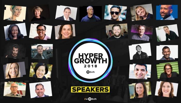 HYPERGROWTH speakers 2018