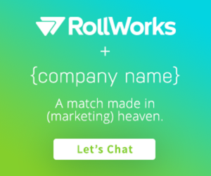 RollWorks personalized ads