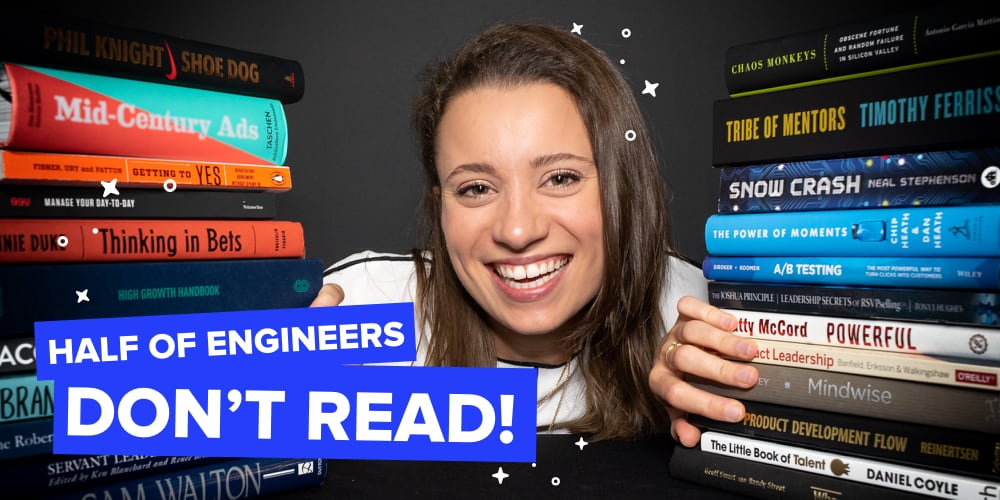 half of engineers don't read!