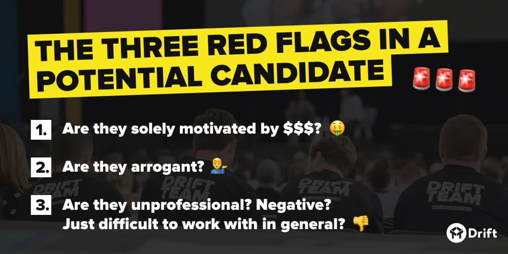 Hiring red flags