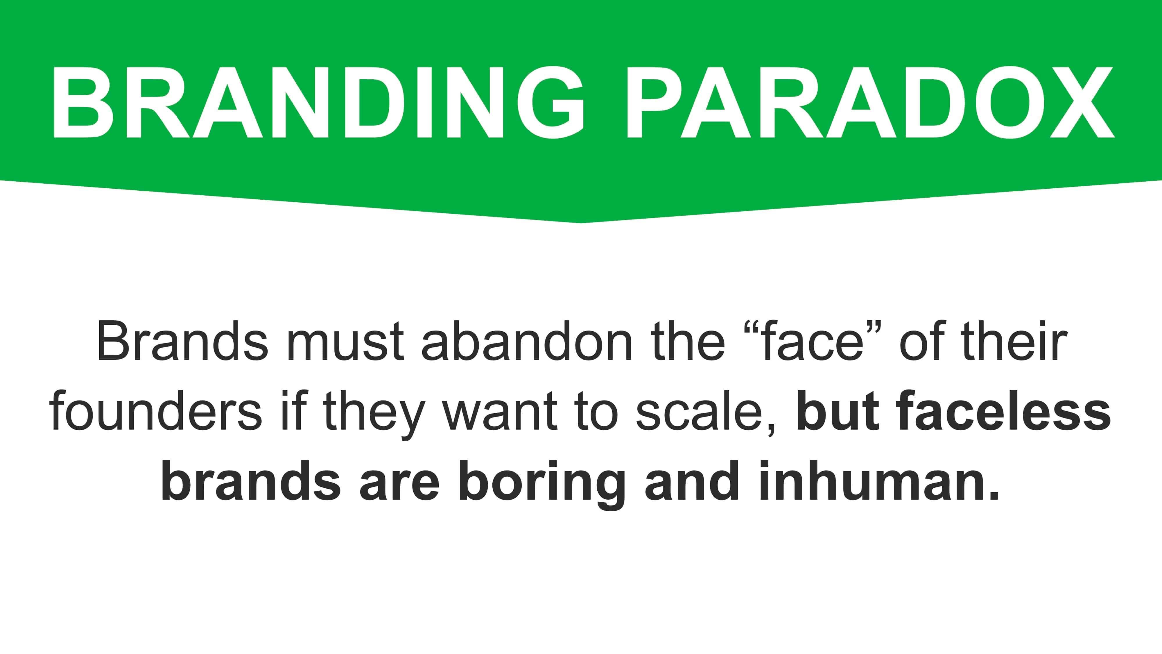 Brand Paradox