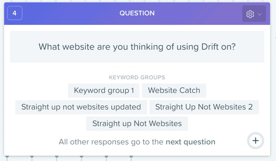 Drift Question