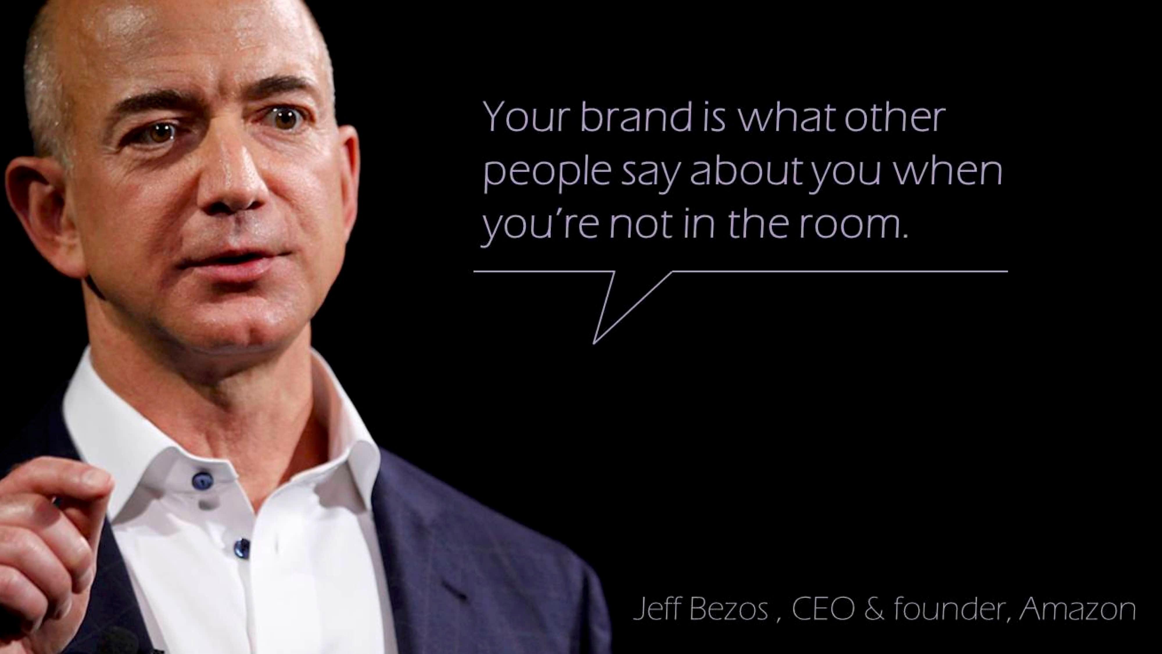 Jeff Bezos Brand