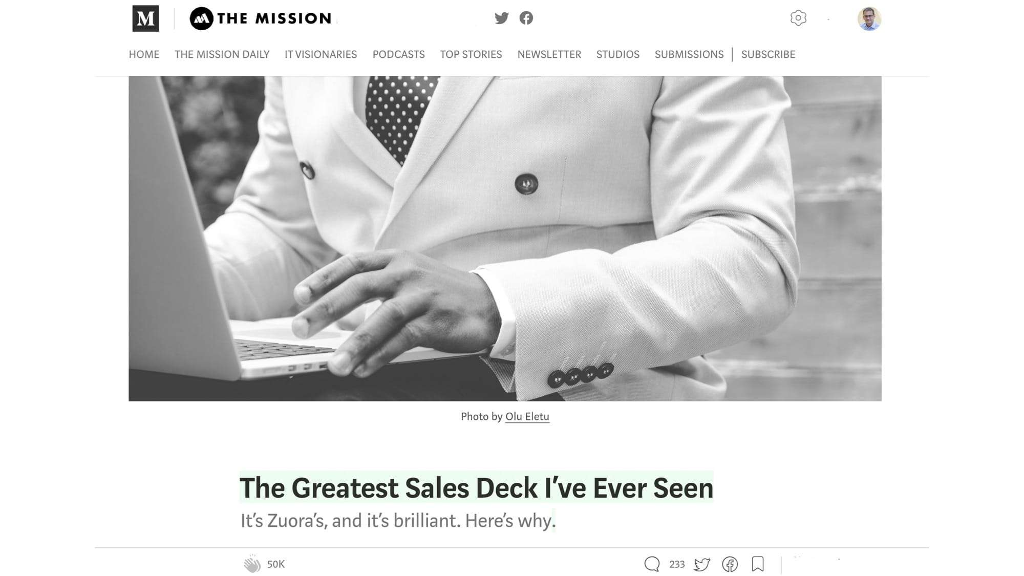 The Greatest Sales Deck_Andy Raskin