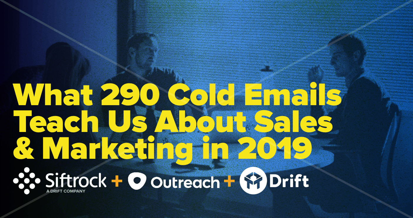 Drift Cold Email Study