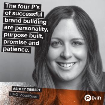 Drift Modern Marketer Playbook Ashley Deibert
