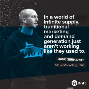 Drift Dave Gerhardt Modern Marketer Playbook