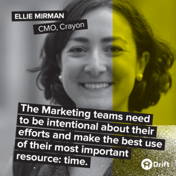 Drift Modern Marketer Playbook Ellie Mirman