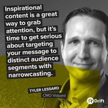 Drift Modern Marketer Playbook Tyler Lessard