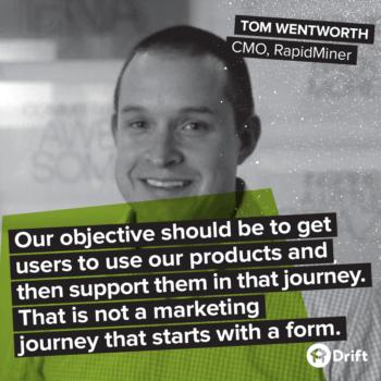 Drift Modern Marketer Playbook Tom Wentworth