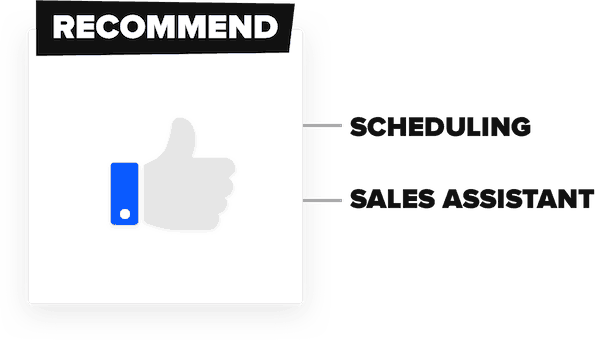 conversational framework - recommendations and reviews