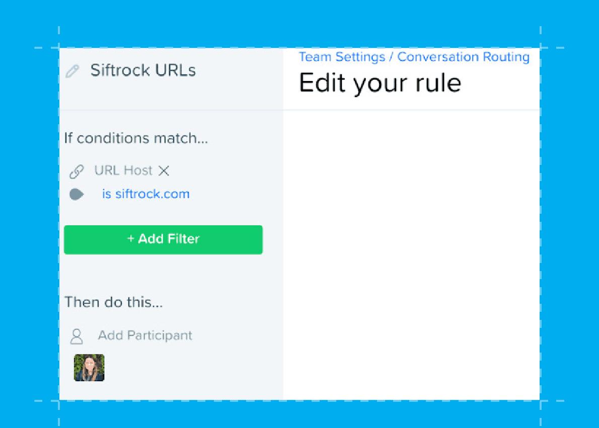 Drift Conversational Marketing Blueprint_routing rule