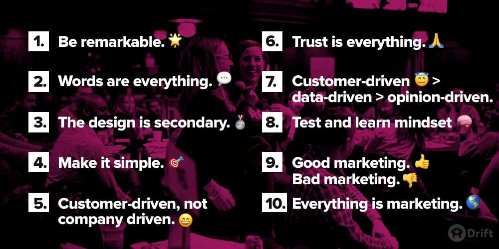 Drift Marketing Manifesto