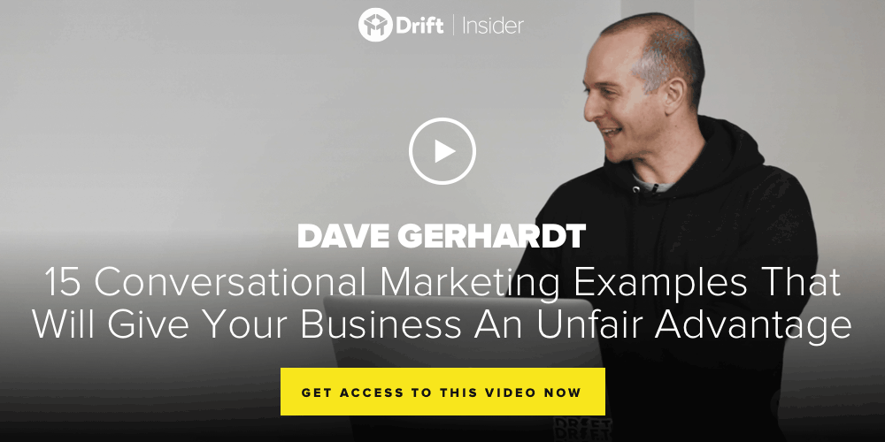 15 conversational marketing examples