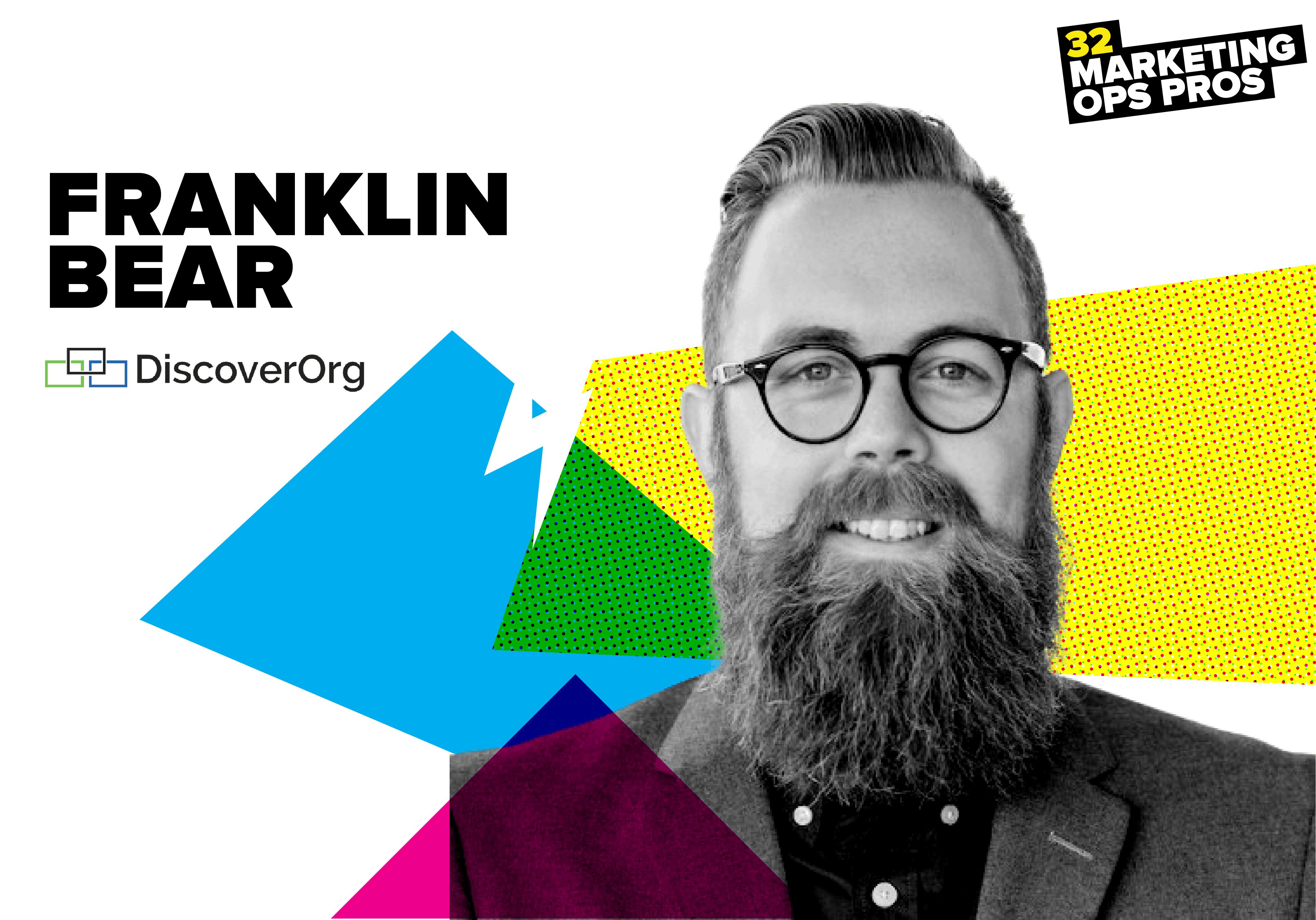 Franklin Bear, DiscoverOrg