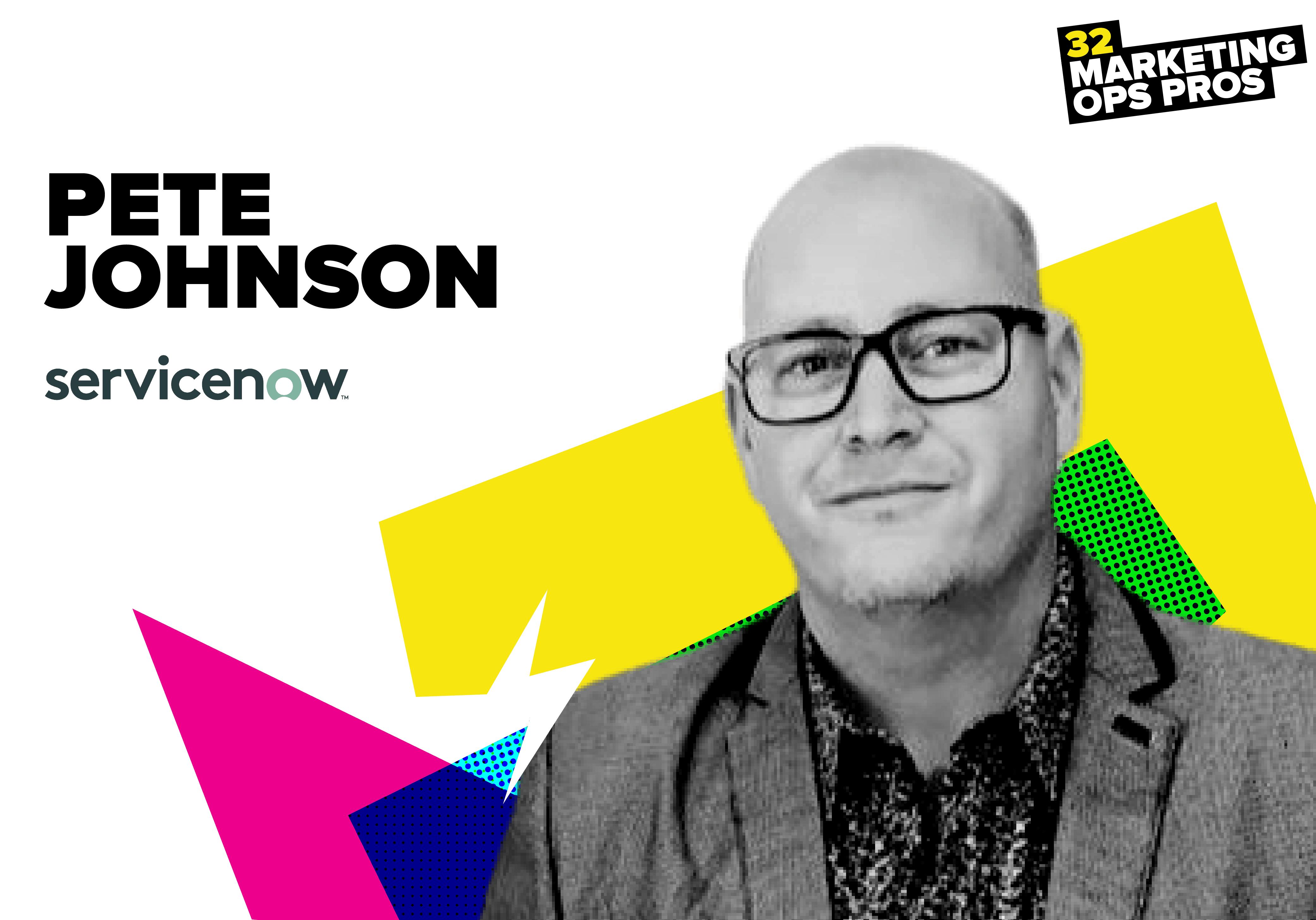 Pete Johnson, ServiceNow