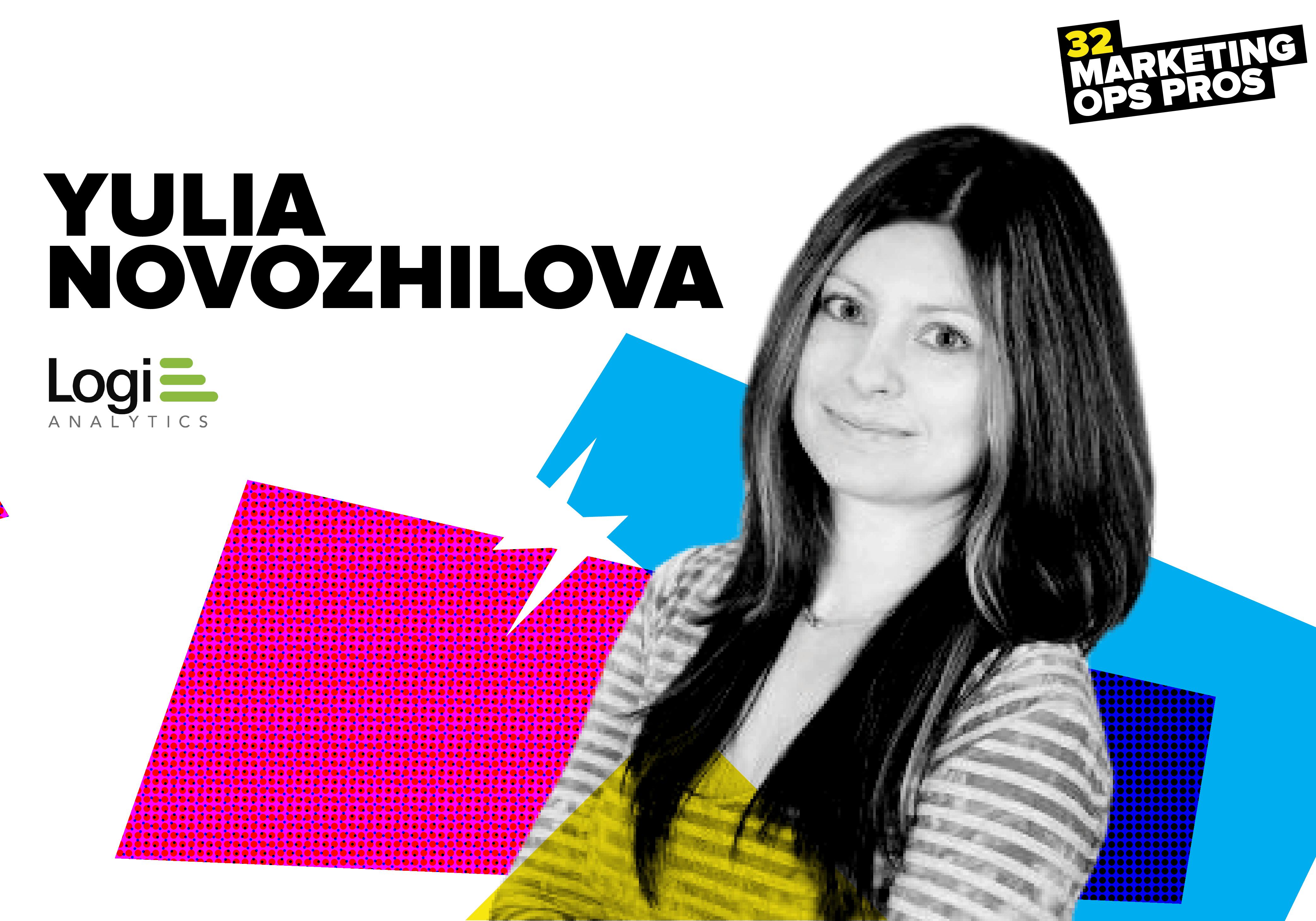 Yulia Novozhilova, Logi Analytics