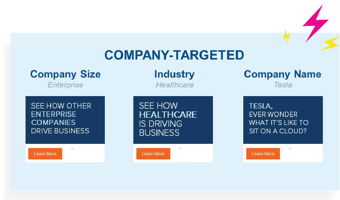 Company targeted conversational ABM