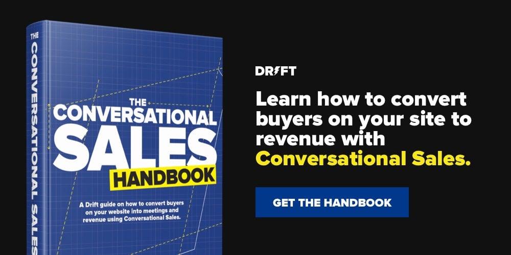 Conversational Sales handbook unfurl
