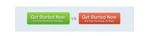 CTA button options