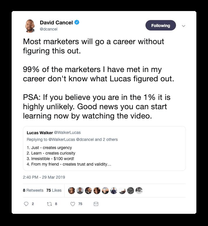David Cancel Beginner's Mind