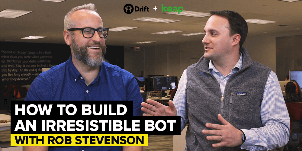 Drift Keap how to improve sales pipeline with chatbots