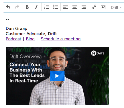 Drift Sales Video Trends_Email Signatures