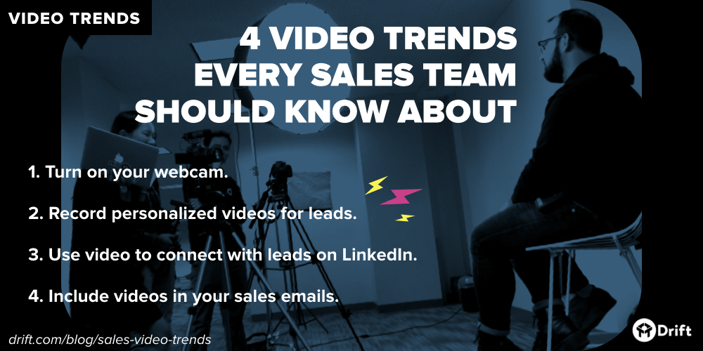 Drift sales video trends to watch