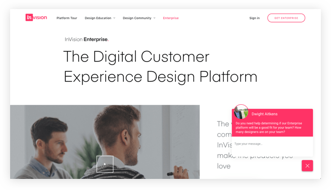 Invision Live Chat