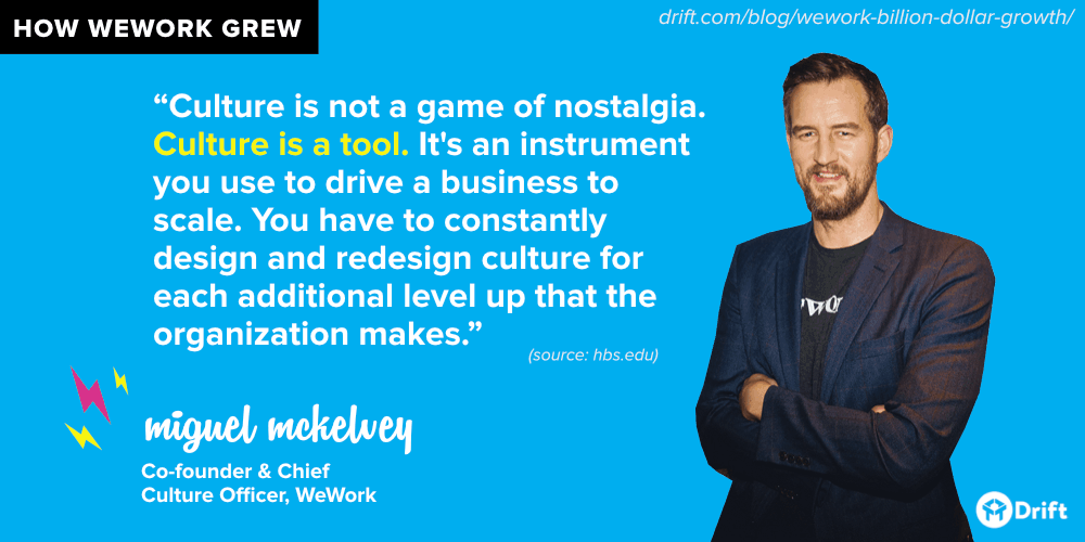 WeWork culture