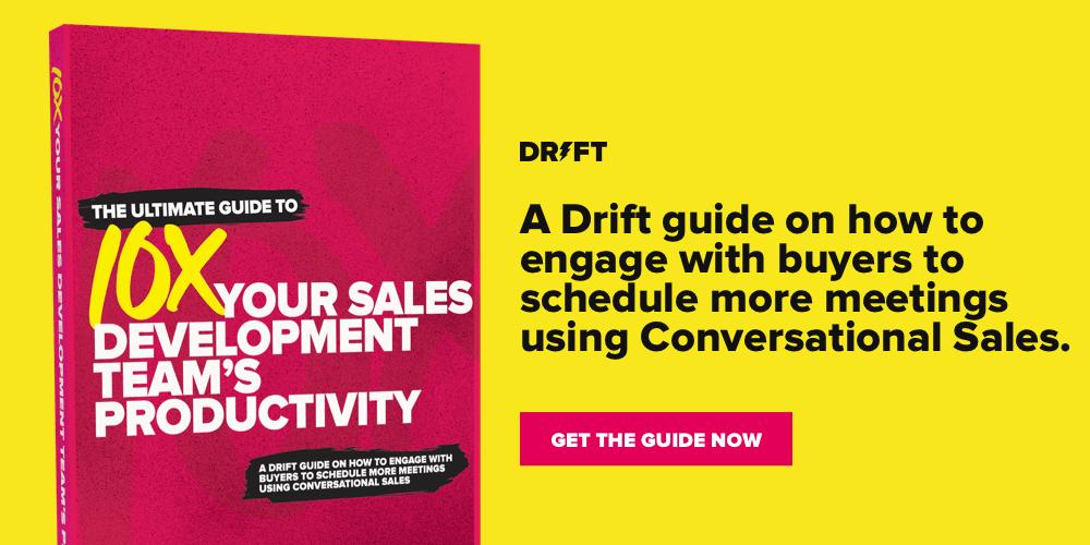 10X your sales development team's productivity
