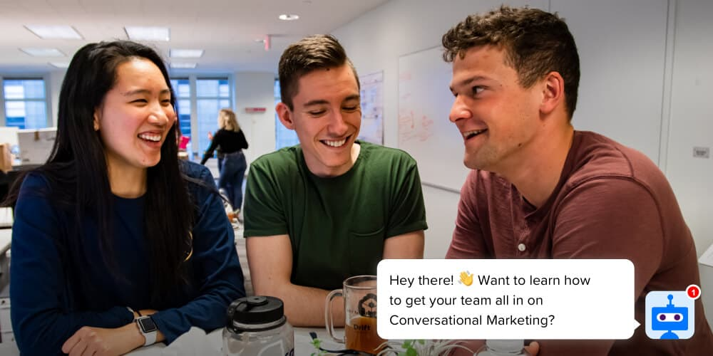 how to get your team all in on conversational marketing