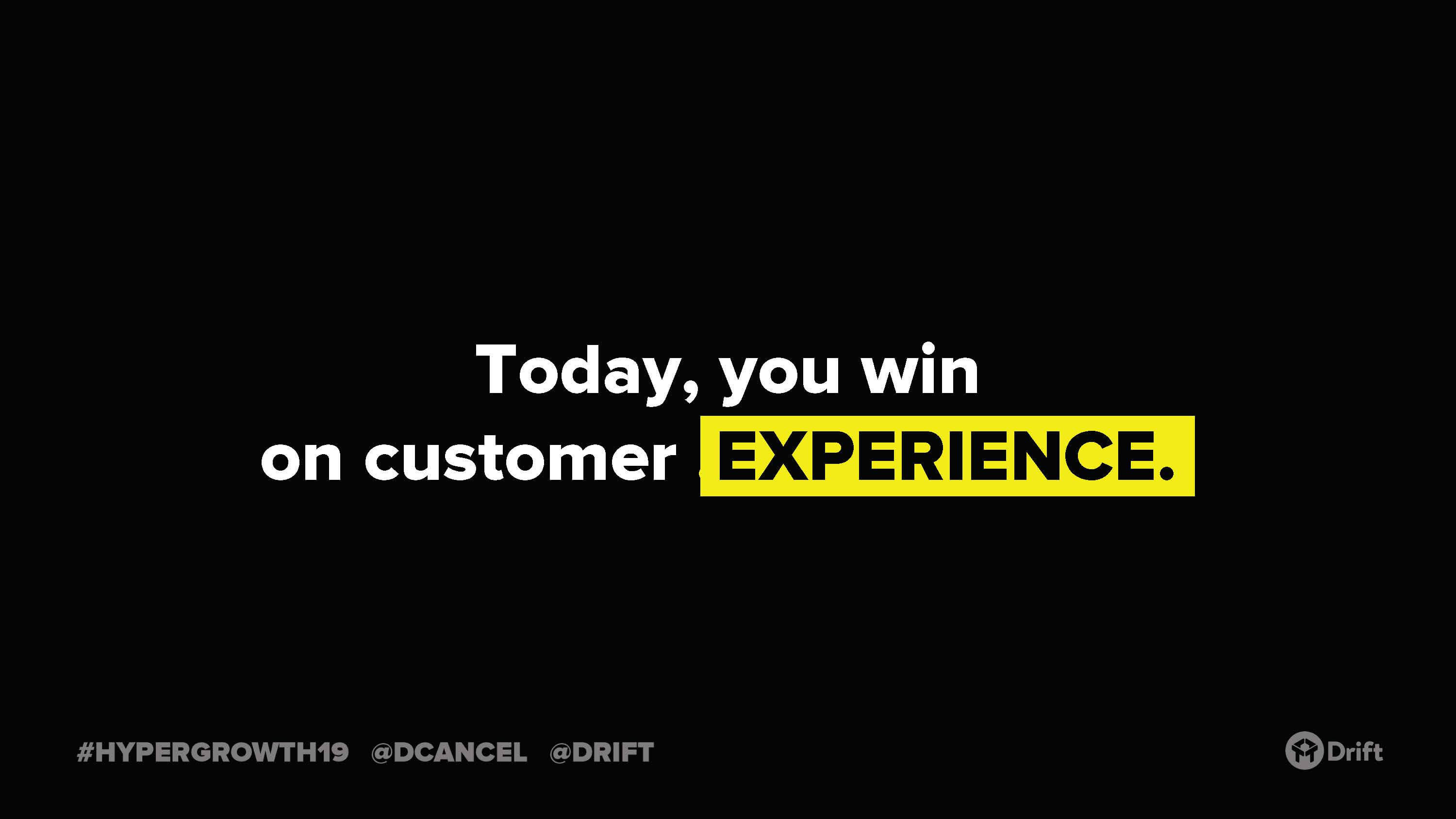 win-on-experience