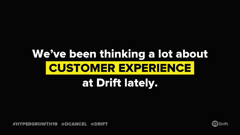 drift-customer-experience