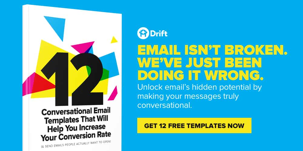 Free conversational email templates