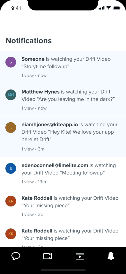 video-notification-feed