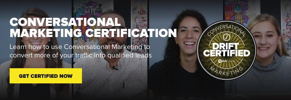 Conversational Marketing Certification