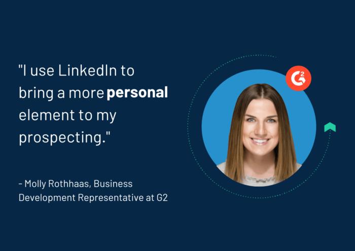 Using LinkedIn for prospecting