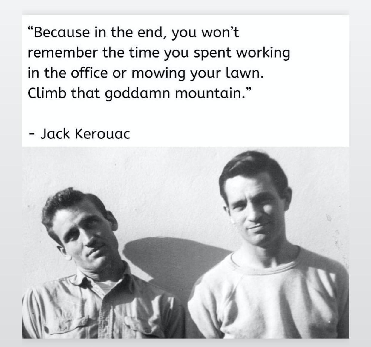 Kerouac quote