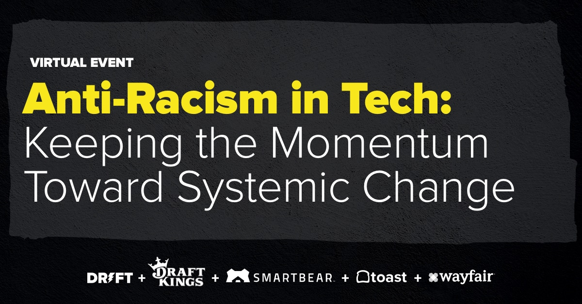 Anti-Racism in Tech webinar