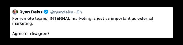 Ryan Deiss Tweet