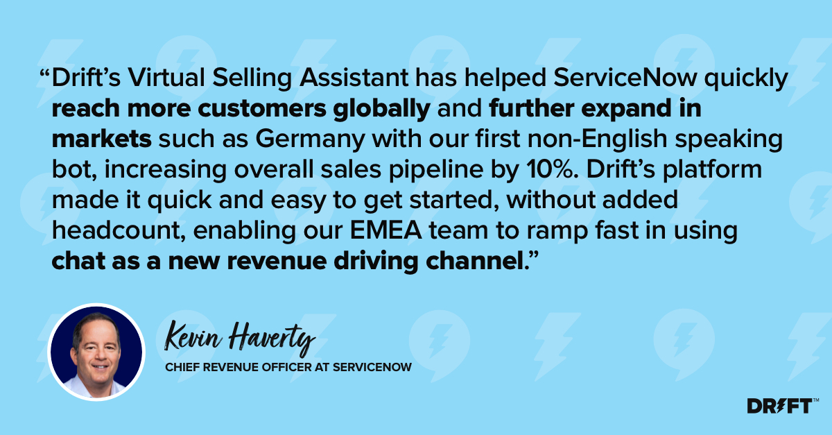 Drift Virtual Selling Assistants