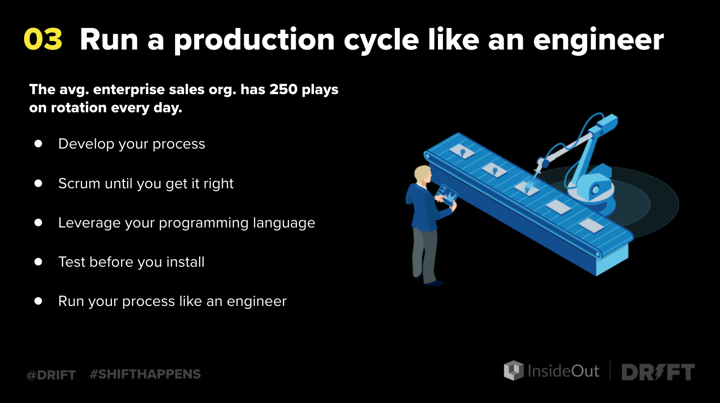 how to improve sales performance with production cycles