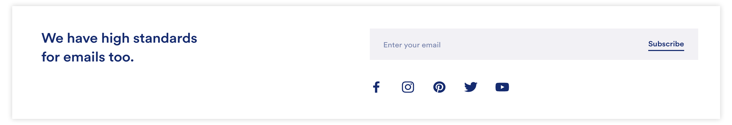 Ritual Email Subscribption Widget