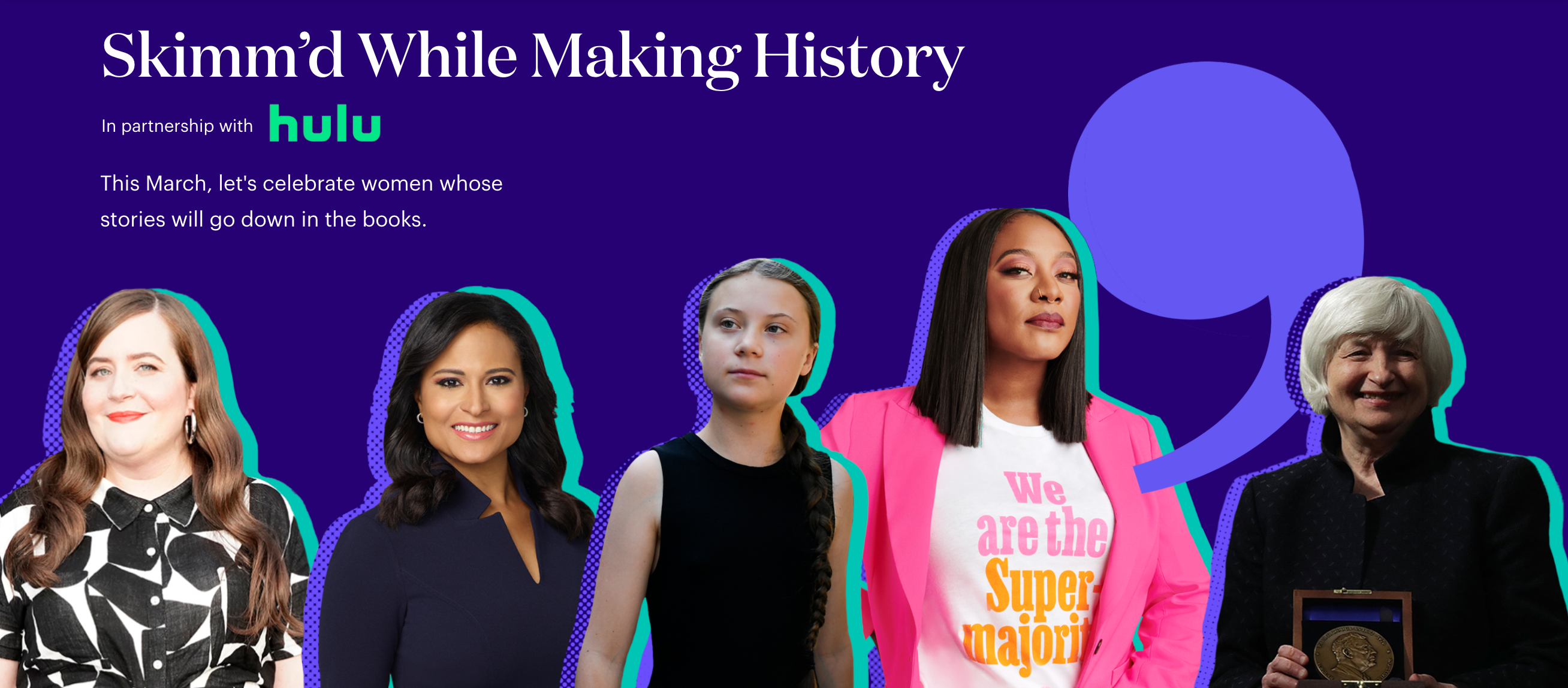 theSkimm Women's History Month