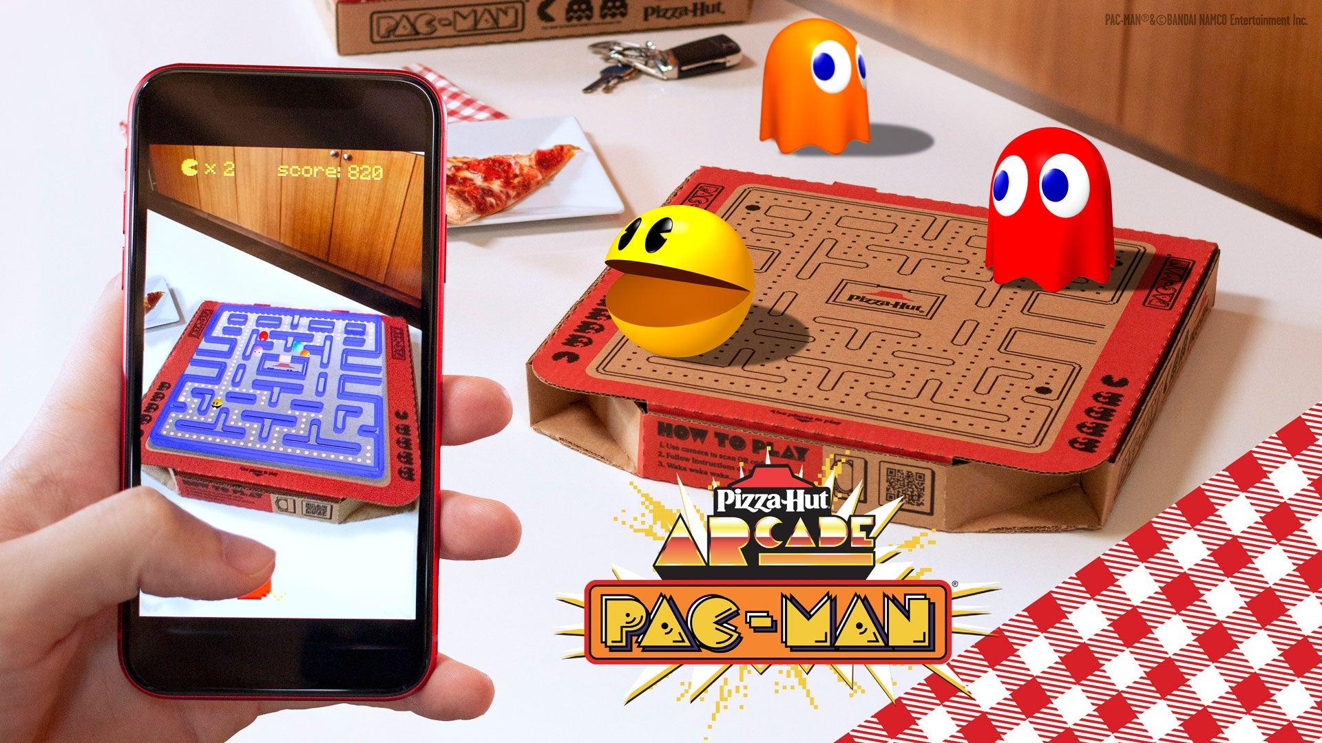 Pac-Man x Pizza Hut